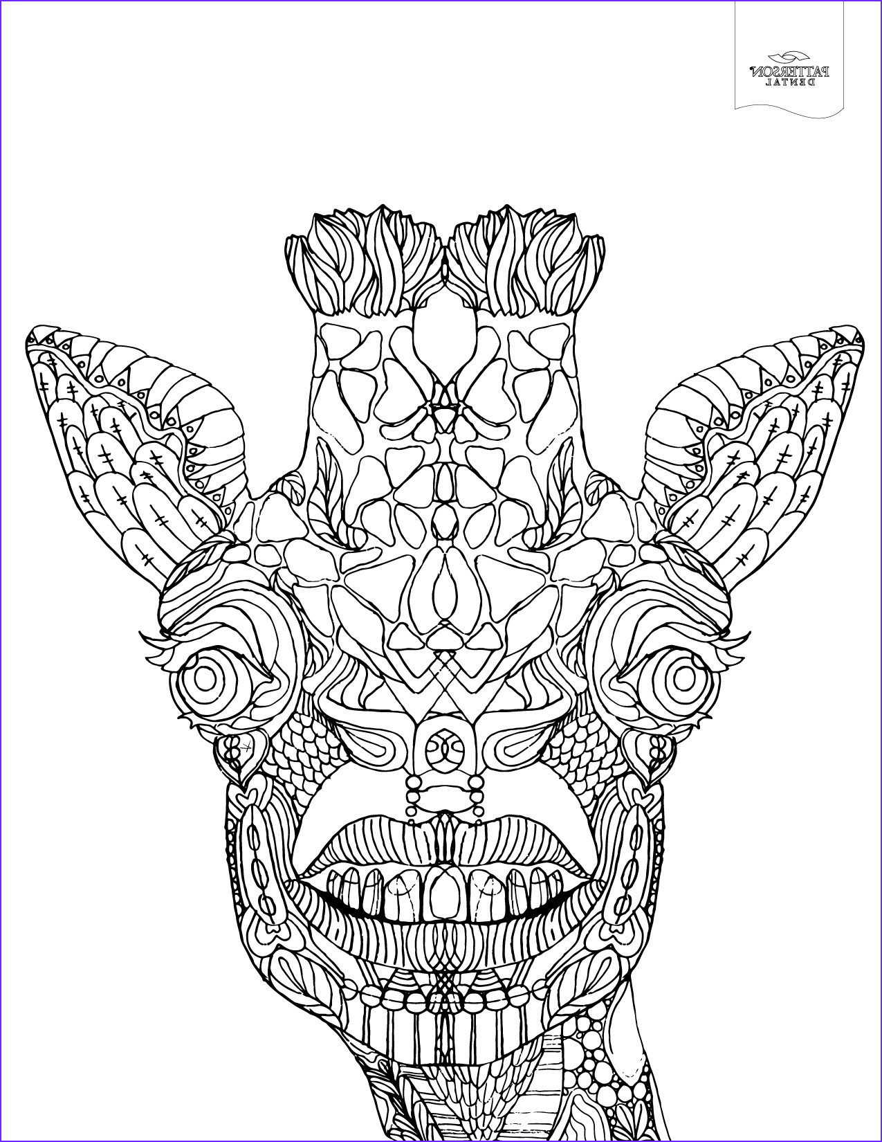 Giraffe Coloring Pictures New Photos 10 toothy Adult Coloring Pages [printable] F the Cusp