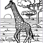 Giraffes Coloring Pages Awesome Photos Giraffe Coloring Page Giraffes Adult Coloring Pages