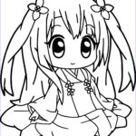Girls Coloring Pages Inspirational Image Anime Girl Coloring Pages Coloringsuite
