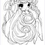 Girls Coloring Pages New Photos Chibi Cotton Candy Girl Coloring Page