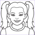 Girls Coloring Pages Unique Images Girl Face Coloring Page Coloring Home