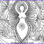 Goddess Coloring Book Beautiful Photos Goddess Art Coloring Pages Printable Coloring By
