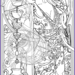 Goddess Coloring Book Best Of Photos Color Your Own Tarot Deck & Art Nouveau Coloring Book By