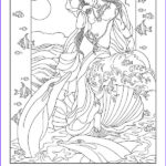 Goddess Coloring Book Cool Stock Goddesses Coloring Book Adult Colouring Pages