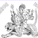 Goddess Coloring Book Inspirational Collection Diwali Coloring Pages Goddess Durga Coloring Pages