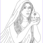 Goddess Coloring Book Inspirational Images Persephone The Greek Goddess Of Spring Growth Coloring