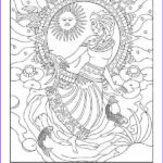 Goddess Coloring Book Luxury Images Incan Goddess Coloring Pages Pinterest