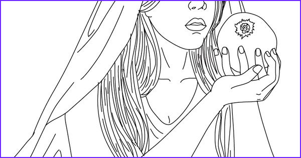 greek goddess coloring pages