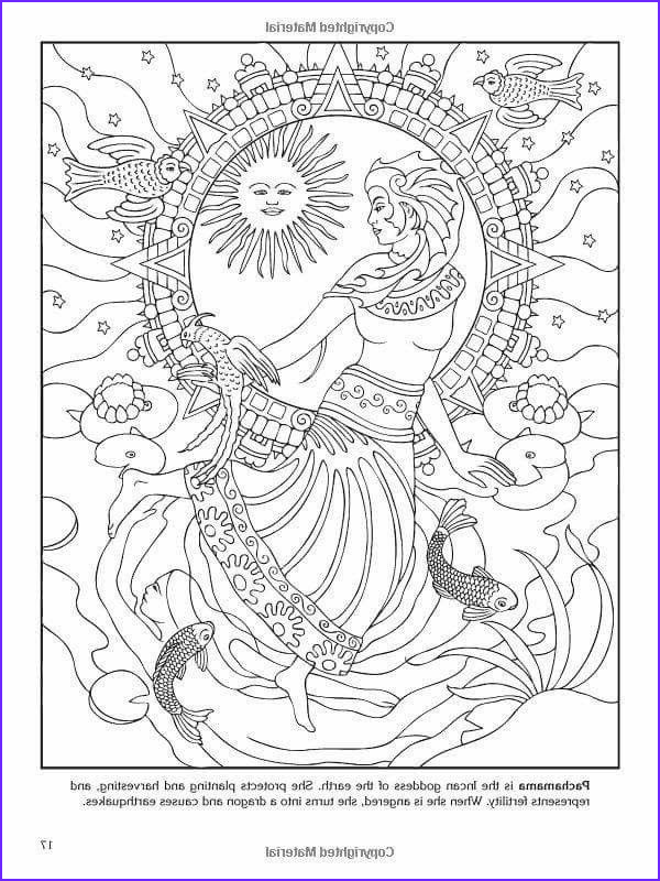 Goddess Coloring Books Awesome Gallery Incan Goddess Coloring Pages Pinterest