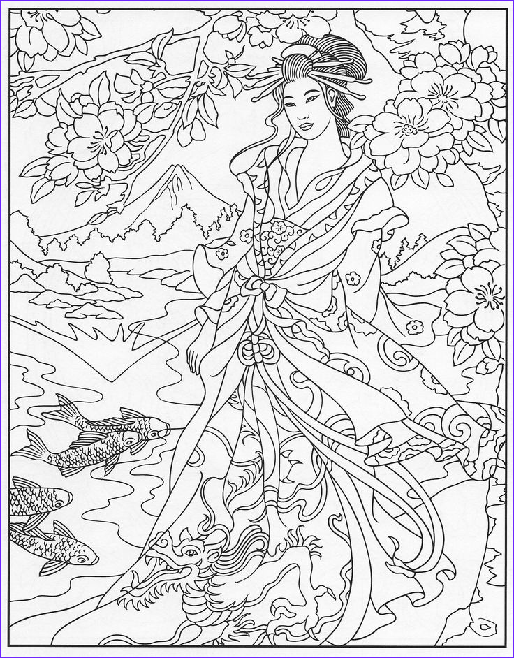 coloring pages to print goddess