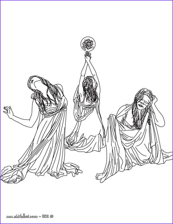 persephone coloring pages