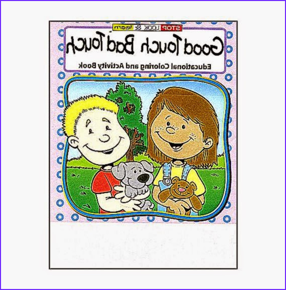 Good touch Bad touch Coloring Book Beautiful Stock Good touch Bad An Educational Coloring and Activities Book