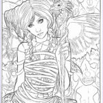 Gothic Coloring Book Beautiful Photos Gothic Coloring Pages
