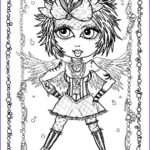 Gothic Coloring Book Best Of Photos Instant Download 5 Coloring Pages Gothic Angels Color Book