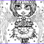 Gothic Coloring Book Inspirational Photos Gothic Coloring Book – Etsy