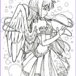 Gothic Coloring Book New Photos Gothic Fairies Coloring Pages Printables