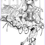 Gothic Coloring Book New Photos Gothic Fairy Coloring Pages Printable