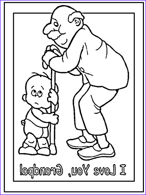 Grandparents Day Coloring Sheets Awesome Stock Grandparents Day Coloring Pages to Print and Color