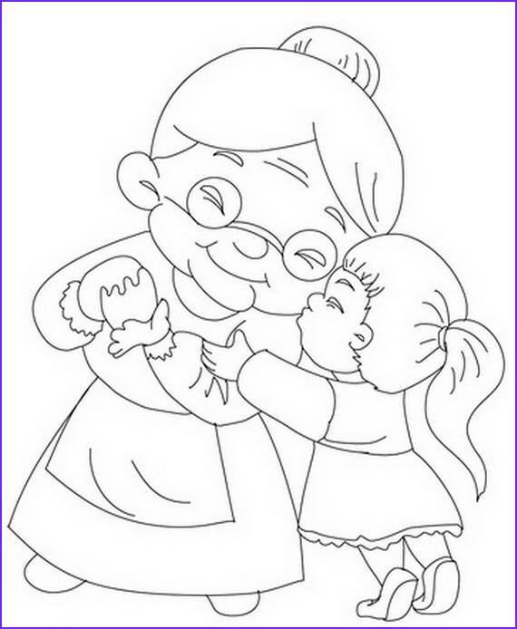 Grandparents Day Coloring Sheets Beautiful Collection Grandparents Day Coloring Pages & Activities for Kids