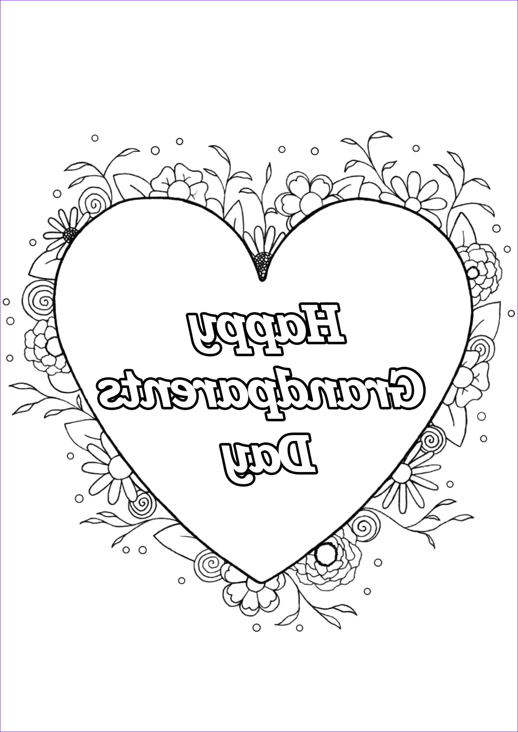 Grandparents Day Coloring Sheets Luxury Images Grandparents Day 4 Gr&parents Day Adult Coloring Pages