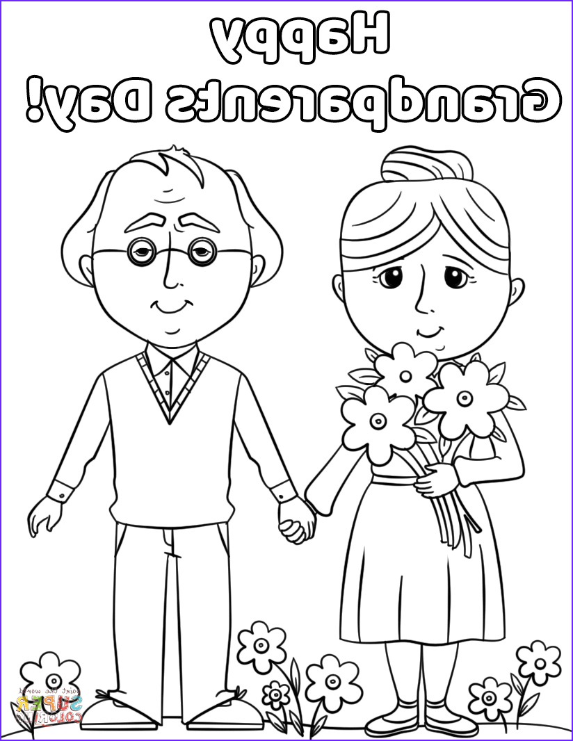 Grandparents Day Coloring Sheets New Photos Happy Grandparents Day Coloring Page