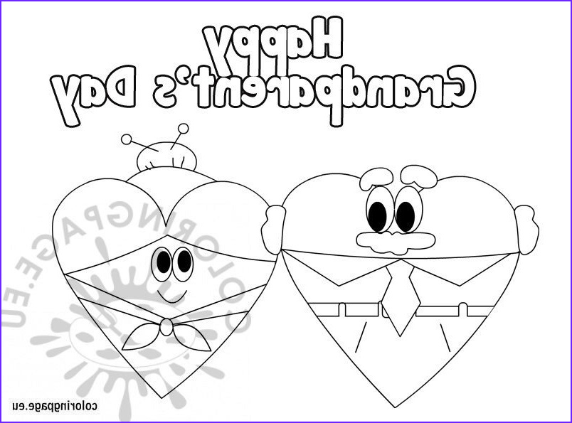 Grandparents Day Coloring Sheets New Photos Happy Grandparent's Day Coloring Sheets – Coloring Page