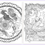 Grown Up Coloring Books Cool Image Mermaid Galore Grown Up Coloring Hattifant