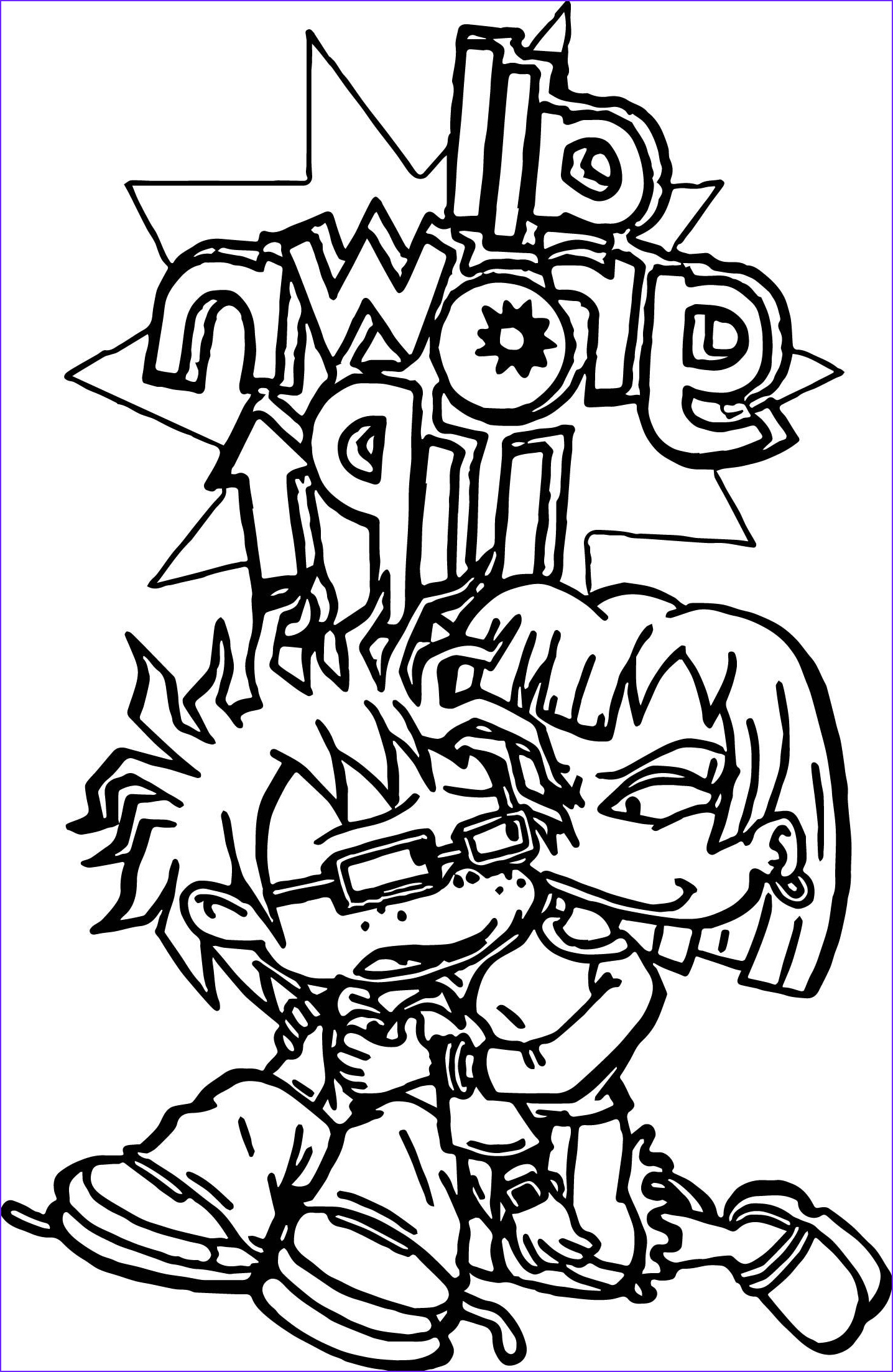 Grown Up Coloring Books New Photos Rugrats All Grown Up Rugrats Coloring Page