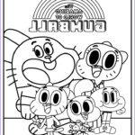 Gumball Coloring Pages Beautiful Photography Here Is The Amazing World Of Gumball Coloring Page