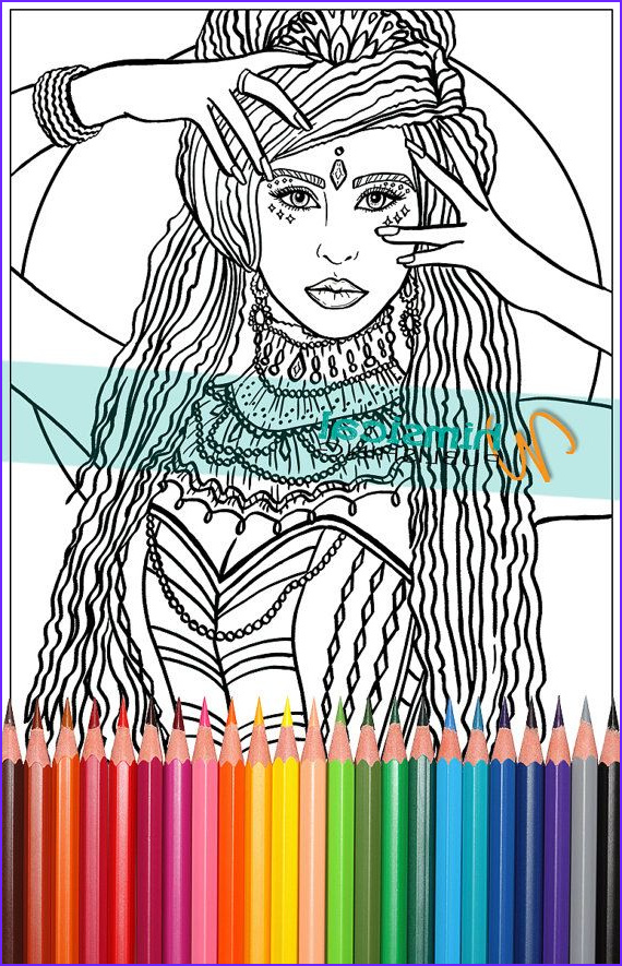 Gypsy Coloring Pages Awesome Image Gypsy Queen Coloring Pages Fashion Coloring Pages