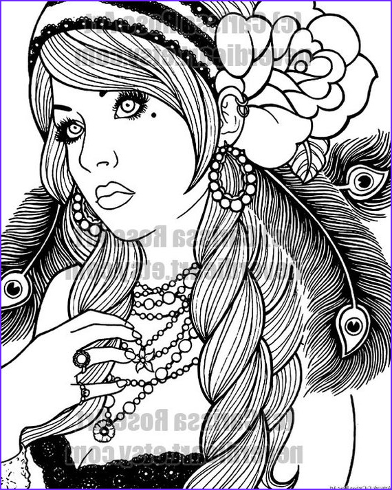 digital print your own coloring