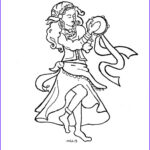 Gypsy Coloring Pages Beautiful Photos Coloring Pages For Kids By Mr Adron Esmeralda The Gypsy