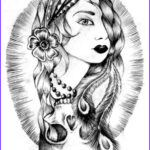 Gypsy Coloring Pages Cool Collection 220 Best Images About Color Pages On Pinterest