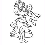 Gypsy Coloring Pages Inspirational Photos Coloring Pages For Kids By Mr Adron Esmeralda The Gypsy