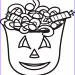 Halloween Candy Coloring Pages Awesome Photos Free Printable Halloween Candy Coloring Page For Kids