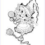 Halloween Candy Coloring Pages Awesome Stock Halloween Trick Or Treat Candy Lollipop Witch Coloring