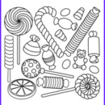 Halloween Candy Coloring Pages Beautiful Collection Halloween Coloring Pages