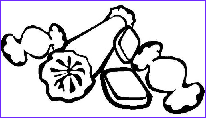 all candy coloring pages pictures to