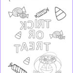 Halloween Candy Coloring Pages Elegant Stock Halloween Candy Coloring Page Twisty Noodle