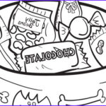 Halloween Candy Coloring Pages Unique Gallery Halloween Series Candy Bowl Grandparents
