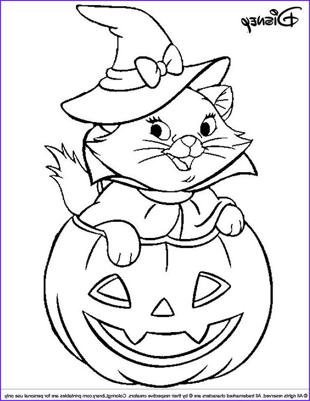 Halloween Cat Coloring Pages Cool Photography Halloween Disney Witch Cat Coloring Page