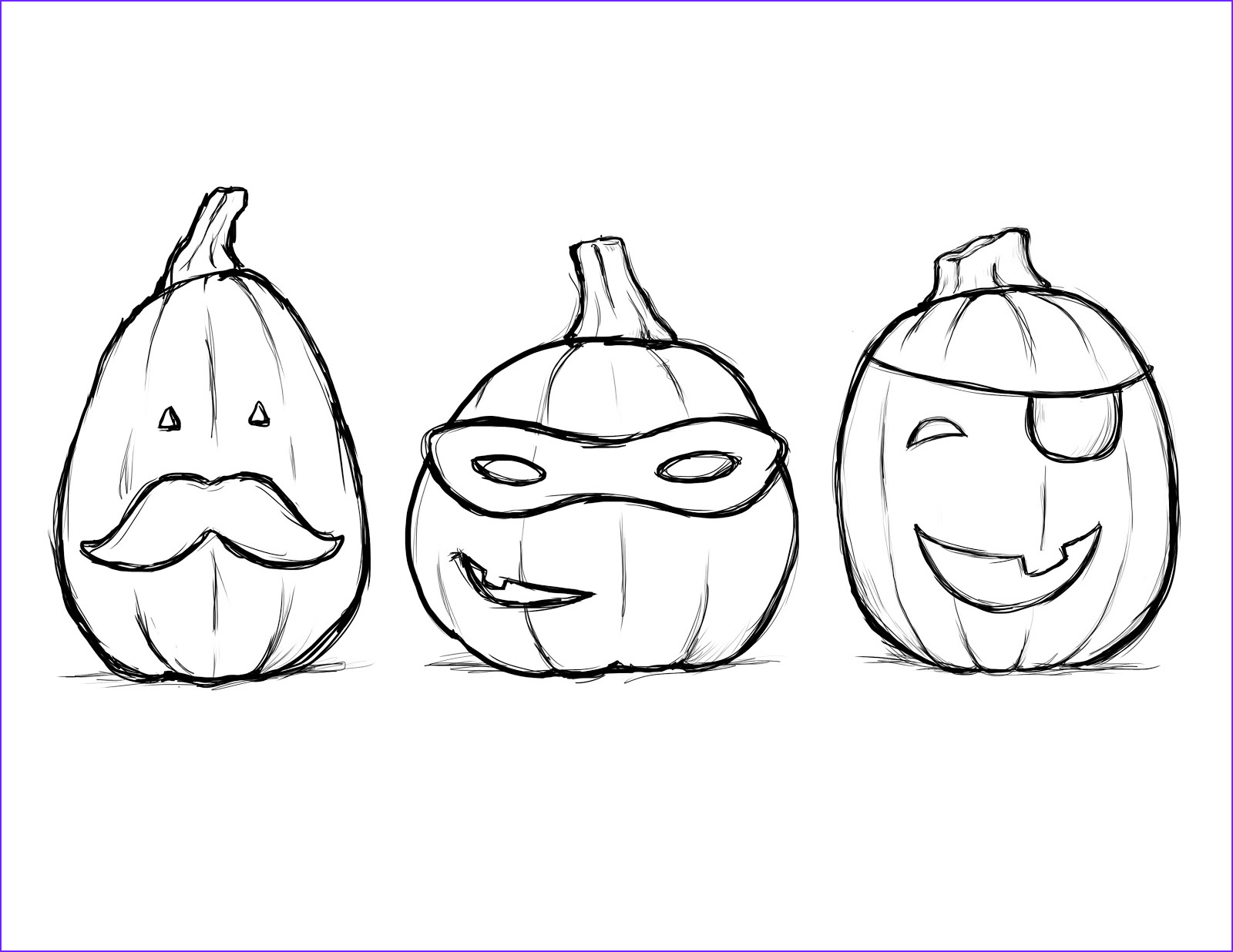halloween coloring book pages