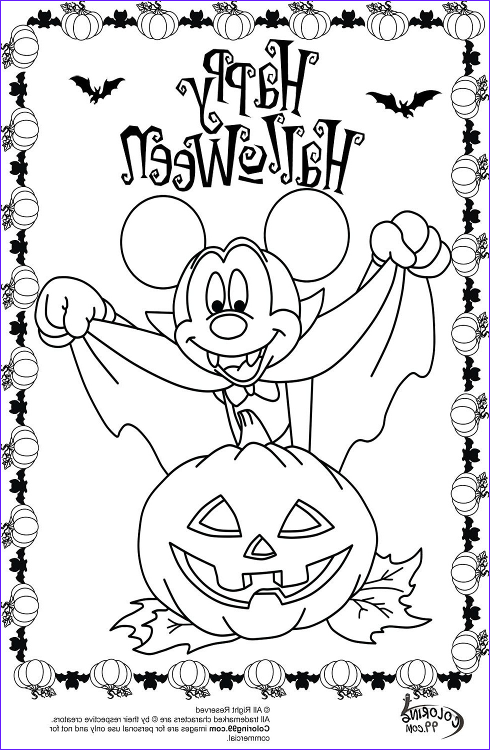 Halloween Coloring Elegant Stock Minnie and Mickey Mouse Coloring Pages for Halloween