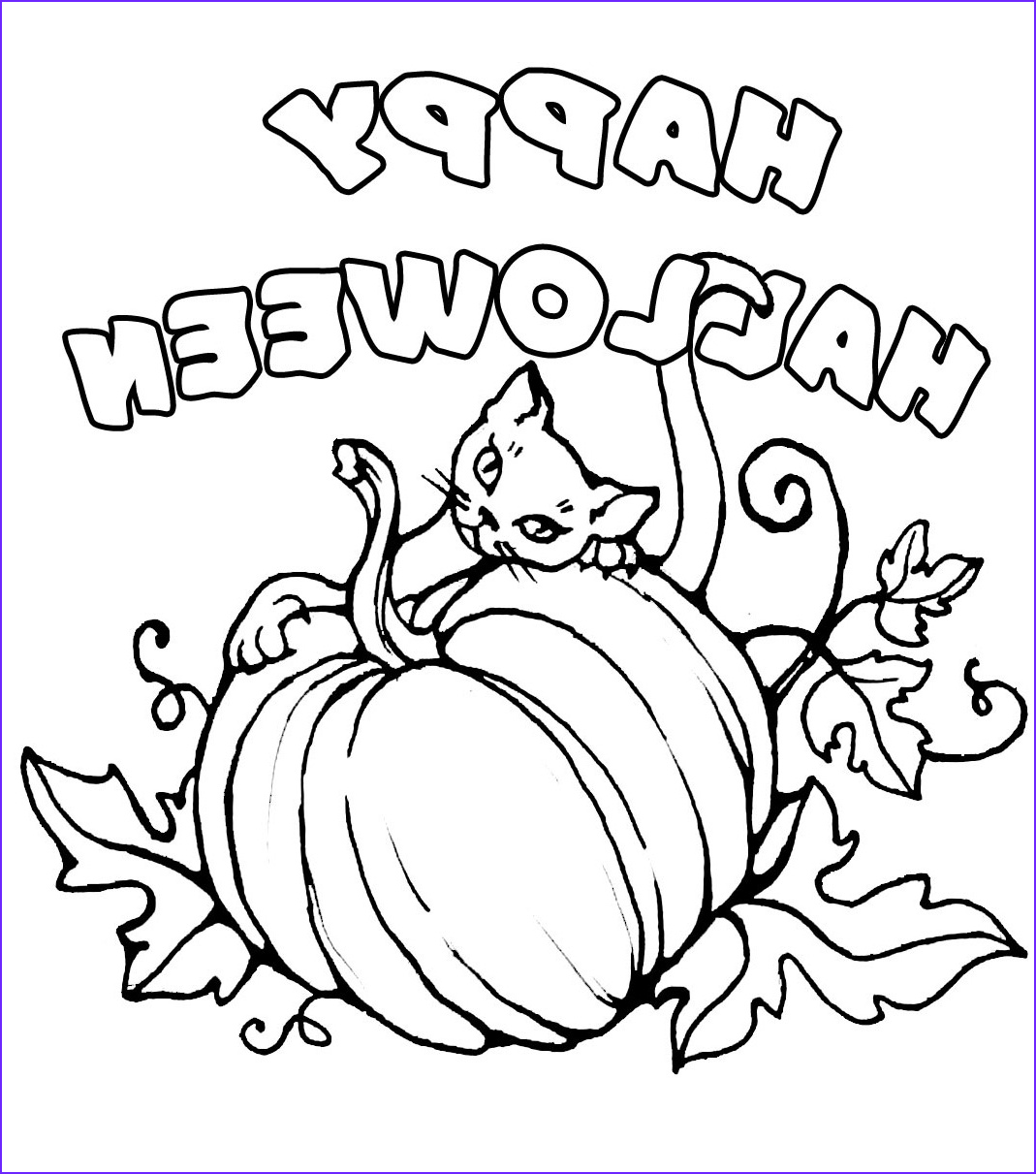 printable happy halloween 2017 coloring pages kids adults