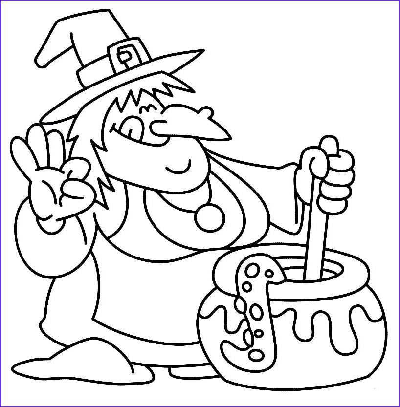 Halloween Coloring Luxury Stock 24 Free Printable Halloween Coloring Pages for Kids
