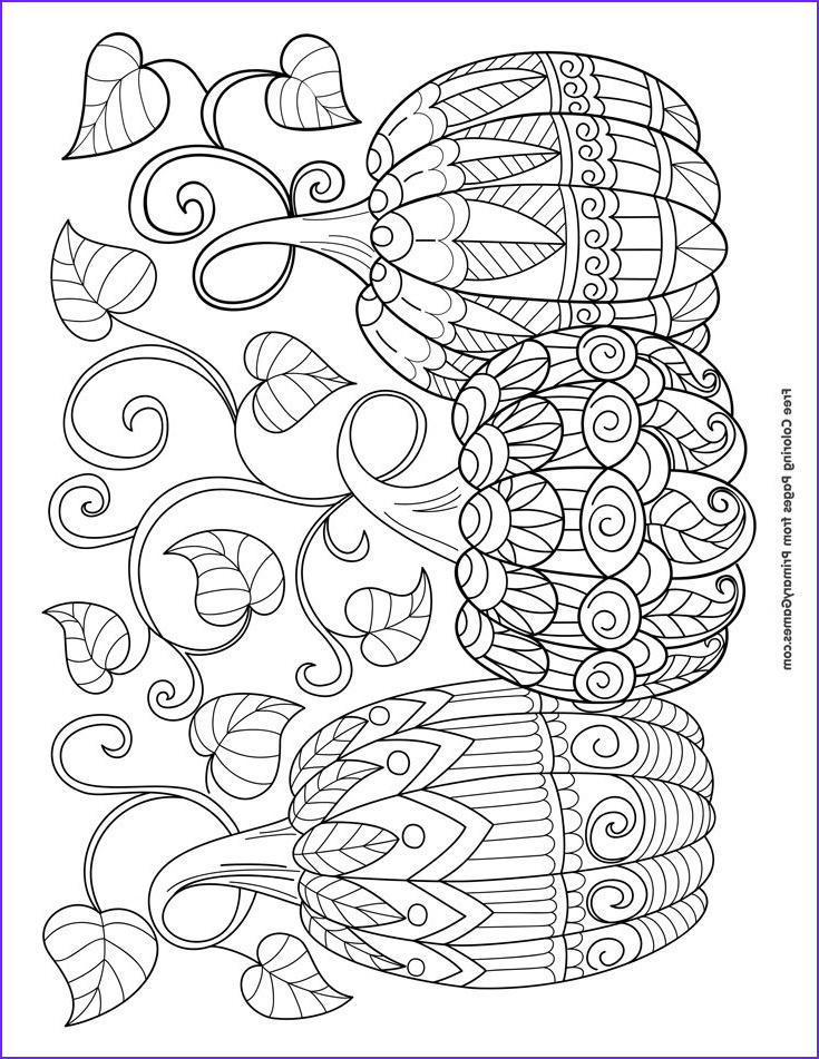 Halloween Coloring Pages Adults Beautiful Collection Halloween Coloring Pages Ebook Three Pumpkins