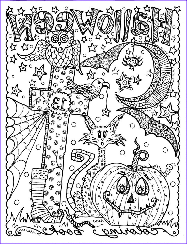 Halloween Coloring Pages Adults Beautiful Photos Best 25 Halloween Coloring Pages Ideas On Pinterest