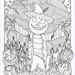 Halloween Coloring Pages Adults Cool Photos Haunted Treasure Hunt Coloring Book