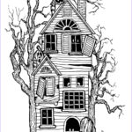 Halloween Coloring Pages Adults Inspirational Photography Halloween Big Haunted House Halloween Adult Coloring Pages