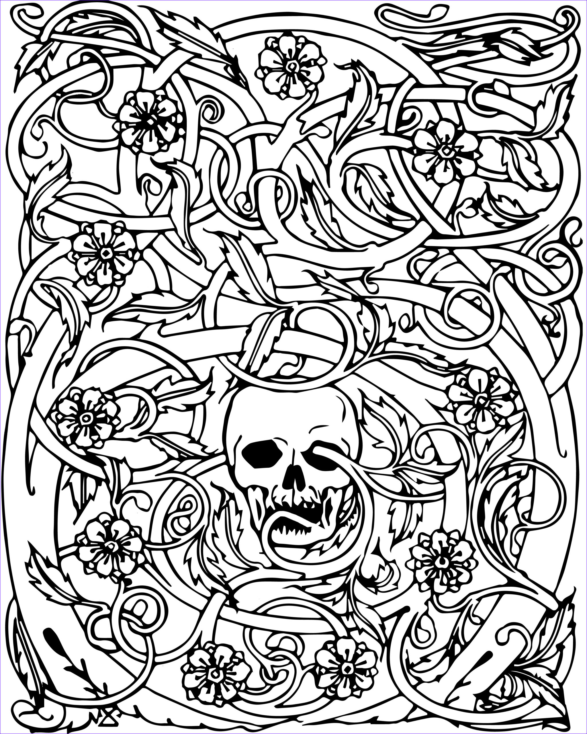 Halloween Coloring Pages Adults Unique Photos Halloween Coloring Pages for Adults